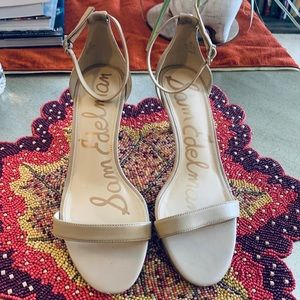 Sam Edelman Strappy Beige Shoes